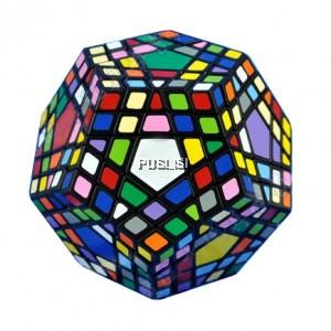 Megaminx Brain Teaser Rubik Cube 5x5 Speed Cube Twisty Puzzle Toy