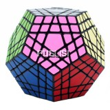 Megaminx Brain Teaser Rubik Cube 5x5 Speed Cube Twisty Puzzle Toy