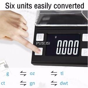 100g/0.001g Digital Milligram Scale High Precision Jewellery Balance Gram mini Weight scales