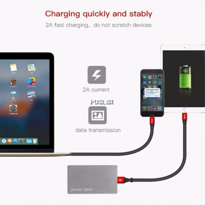 Baseus Original Mini Short 23cm USB Charging Cable Data Sync For iPhone Lightning Cable