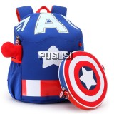 Original Kids Cool Marvel Heroes School Backpack with Mini Crossbody Bag