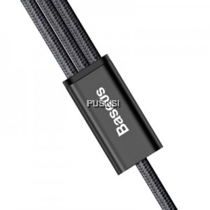 Baseus 3 in 1 USB Charger Charging Cable 1.2M Cord Micro USB/8 Pin Port /Type
