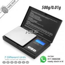 Portable Digital Scale 500 x 0.01g Mini Digital Jewellery Weighing Scale