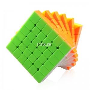 QiYi Mo Fang Ge Rubik cube 6x6 WuHua Speed Cube Magic Cube Puzzle Toy