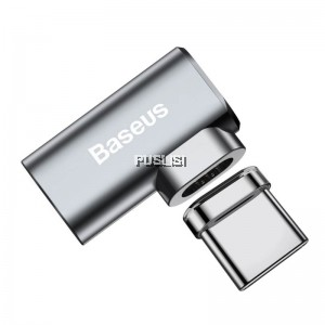 Baseus Type-C Mini Water-proof Magnetic Elbow Adapter Converter for macbook charging devive