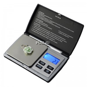500g x 0.1g Digital Scales Pocket jewellery Mini Electronic Jewerly Scale