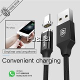 Baseus Magnetic Type C 3A Adapter Data Sync Charging Cable for Samsung S8 Xiaomi 6