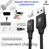Baseus Lightning Cable Magnetic Charging Cable 120cm for apple iOS lightning ipad iPhone X 5s 5c 6s 7 plus