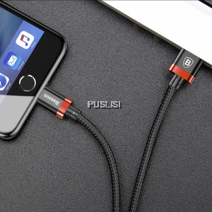 Baseus USB 1m Lightning Charger Charging cable cord Apple iPhone X iPhone 8/7/6/5