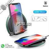 Baseus Foldable Qi Wireless Silicone 10W Flash Charge Three Coils Wireless Charging Pad