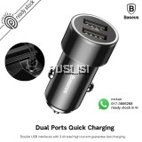 Baseus 3.4A Dual USB Car-Charger For iPhone Portable Quick Charging QC 3.0 Car Charger
