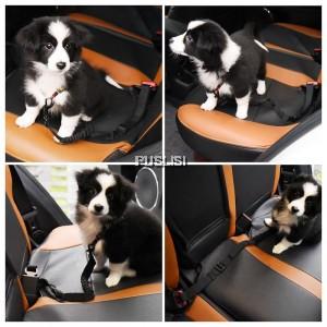 Adjustable Pet Dog Cat Car Seat Belt Safety Harness Leash Vehicle Nylon Seat belt