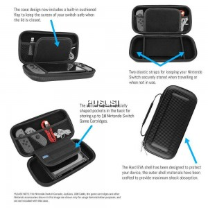 Travel Carrying Nintendo Switch Case Protective Case Switch Console Shock Resistance Bag
