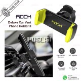ROCK New Universal Car Vent Phone Holder II 360 Rotation Adjustable Phone Stand For iPhone Samsung