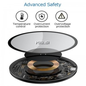 Baseus Simple Wireless Charger 10W Qi Charging Pad Qi Wireless Charger Fast Charging Apple Phone iOS Smartphone for iPhone X 8 Plus Samsung Galaxy S9 S9+ S