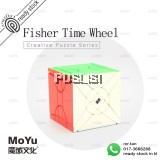 MoYu Fisher Time Wheel Rubiks Cube Magic Cube Puzzle Speed Cube Rubik Cube Twist Toy Brain Teasers