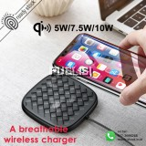 Baseus Qi Wireless Charger Fast Charging Pad 10W 7.5W For Samsung S9/S9+ S8/S8+ Note 9 8 Xiaomi