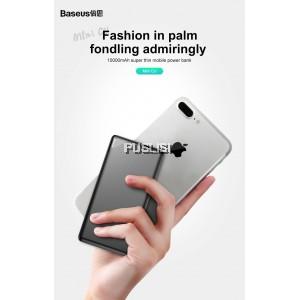 Baseus Slim Power Bank 10000mAh Dual USB 2.1A output micro input for Xiaomi iPhone OPPO