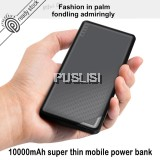 Baseus Slim Power Bank 10000mAh Dual USB 2.1A output micro input for Xiaomi iPhone OPPO