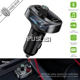 BASEUS Car Charger Car Adapter Bluetooth  MP3 FM Transmitter Dual USB 3.4A Support U Disk