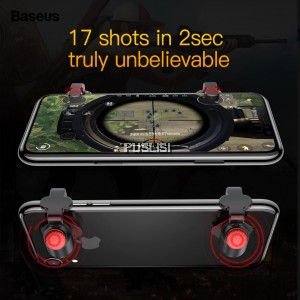 BASEUS PUBG G9 Shooting Game Controller Trigger Shooter Assist Tools Button Aim Key Joystick