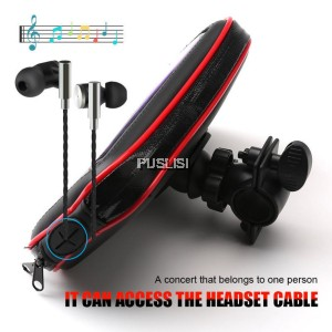 Bike Bicycle Motorcycle Holder with Waterproof Case Bag Handlebar Mount phone Holders Stand For iphone 8 8 plus 7  7 plus 6s Samsung Note3 4 5