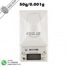10g * 0.001g LCD Digital Electronic Pocket Gram Jewelry Diamond Scale