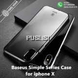 BASEUS Simple Series Clear TPU Phone Case Phone Cover iphone cover for iPhone X