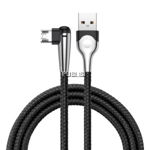 BASEUS Micro USB Charging Cable MVP Elbow 2.4A 1m Reversible Micro USB Data Sync Charge Cable