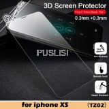 Baseus Screen Protector Front Back 0.3mm Tempered Glass Film Rigid-Edge Curved Screen For iPhone XS