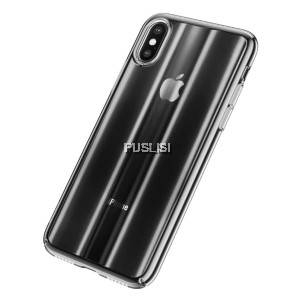 BASEUS Aurora Series Phone Cover Phone Case Electroplating Hard PC Case for iPhone X XS 5.8 inch