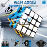 GAN 460M 4x4x4 Magnetic Rubiks Cube Magic Cube Speed cube Puzzles Gan 460 M Magnets Speeds Cube Gan Cube Toys