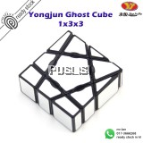 YongJun 1x3x3 Ghost Cube Rubik Cube Irregular Magic Cube Ghost Cube Rubiks Cube Speed Twist Puzzle Brain Teaser Toy