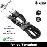 Baseus Cafule 2.4A Quick Charge Lightning Cable Fast Charging for Apple iPhone X  XS  XS Max, XR  iPad