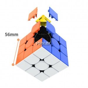 ( New 2020 ) GAN 356RS Speed Cube 3x3x3 Rubiks Cube Magic Cube Rubik Cube Puzzle Toys