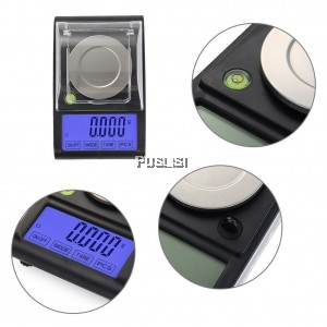 50g 0.001g Mini Electronic Digital Diamond Jewelry Scale DH-A05