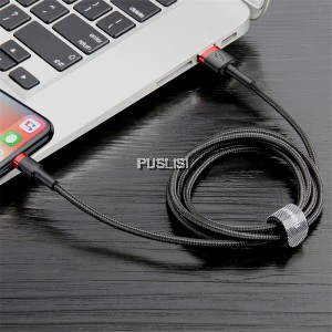 Baseus Fast Charge Usb Cable For Iphone X XS Max XR 8 7 6 5 6 s 2.4A 1meter ios Apple