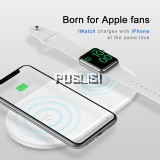 Baseus 2in1 Fast Qi Wireless Charger iWatch iPhone XS XS Max XR 8 PLUS X