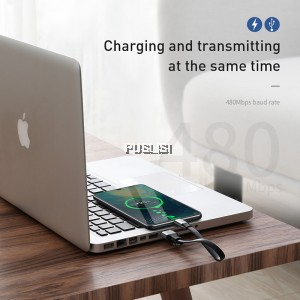 Baseus 23cm HW Type C Cable Data Transfer QC3.0 5A Supercharge Charging for huawei Android xiaomi