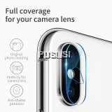 Baseus 9H Hardness Back Camera Lens High Transparent Quality Tempered Glass For iPhone X